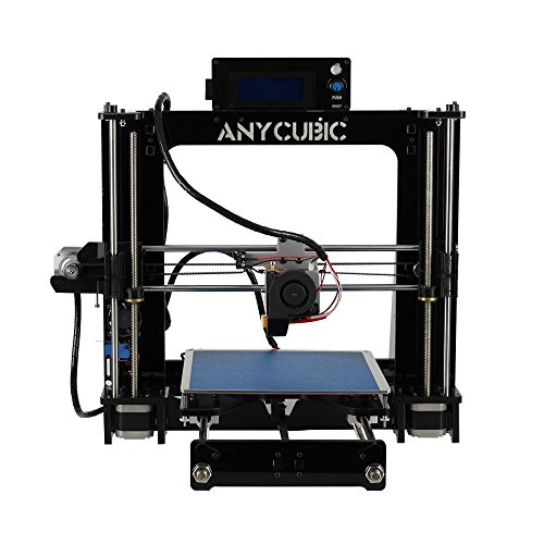 Anycubic Prusa I3 3D-Drucker LCD Bildschirm USB SD Karte 3D Printer DIY Kit Set (Schwarz)