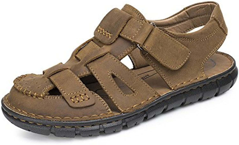 LEDLFIE Sandalen Mode Outdoor Schuhe Strandschuhe LightBrown 41LEDLFIE Sandalen Outdoor Strandschuhe LightBrown 41 Billig und erschwinglich Im Verkauf