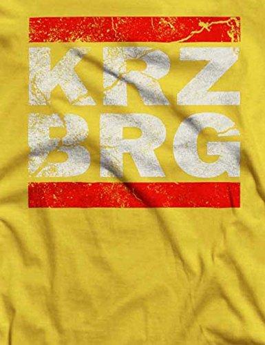 Kreuzberg Vintage T-Shirt S-XXL 12 Farben / Colours Gelb