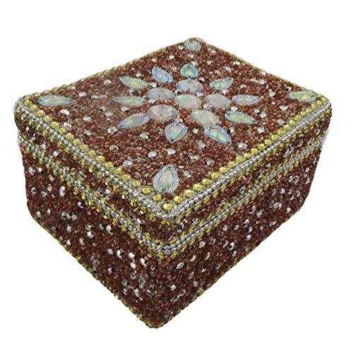 contenitore di monili decorativi fatti a mano
