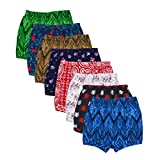 #1: Kids Basket Baby Boys and Girls Kids Brief Printed Cotton Panty Drawer Inner Underwear Combo Pack of 8 Pc