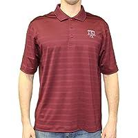 """Texas A&M Aggies NCAA Champion """"Trophy"""" Men's Textured Polo Shirt"""