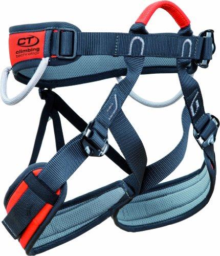 Climbing Technology Imbrago per arrampicata e/o ferrata Explorer Taglia S-M con cosciali regolabili