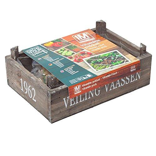 geschenkartikel-shopping square meter garden Pflanz-Paket Vitamine Gemüse Garten Pflanz-Set