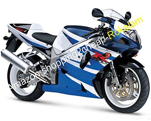 Kit De Carénage Pour GSXR750 2001 2002 2003 K1 GSXR GSX-R 750 600 01 02 03 Ensemble Carénage Bleu (Moulage Par Injection)