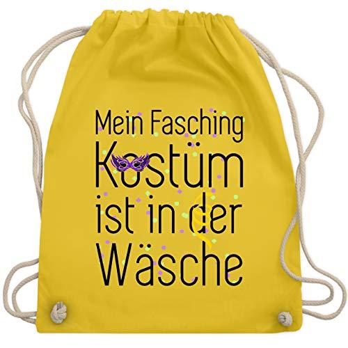Karneval & Fasching - Mein Fasching Kostüm ist in der Wäsche - Unisize - Gelb - WM110 - Turnbeutel & Gym Bag