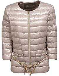 Herno 0507W piumino donna grey dove ultra light jacket woman