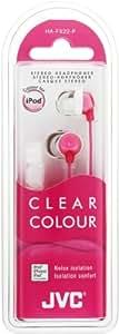 JVC HA-FX22-P-E Cuffia Intrauricolare di Qualità, Rosa