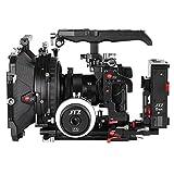 JTZ DP30 Kamerakäfig Grundplatte + Top Griff + Matte Box + Follow Focus + C5 CCUPS V mount Rig für Panasonic Lumix GH3 GH4 GH5 GH5s