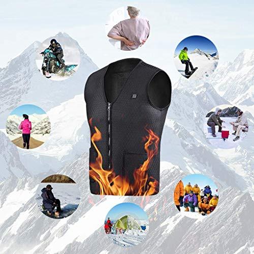 Freefa Chaleco térmico eléctrico de Invierno