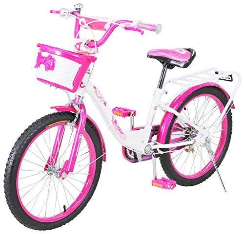 Actionbikes Kinderfahrrad Daisy - 20 Zoll - V-Break Bremse vorne - Seitenständer - Luftbereifung - Ab 4-9 Jahren - Jungen & Mädchen - Kinder Fahrrad - Laufrad - BMX - Kinderrad (20`Zoll)