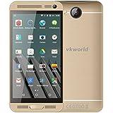 Damark(TM) Vkworld Vk800x Android 5.1 Mtk6580 5.0 Inch Unlocked Smartphone RAM 1GB+ROM 8GB Quad Core 1.3GHz 8 Mp Dual Sim Wcdma & Gsm Cellphone(Gold)