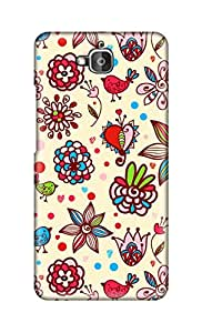 SWAG my CASE Printed Back Cover for Huawei Honor Holly 2 Plus