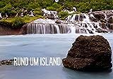 CALVENDO Natur: Rund um Island (Wandkalender immerwährend DIN A2 quer): Impressionen einer Inselumrundung (Monatskalender, 14 Seiten ) - Reinhold Ratzer