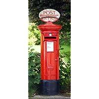 Carta da parati fotografica inglese lettere in Gran Bretagna Londra cassetta postale–dimensioni 86x 200cm, 2pezzi