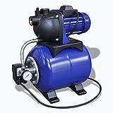Elektrische Gartenpumpe 1200W blau