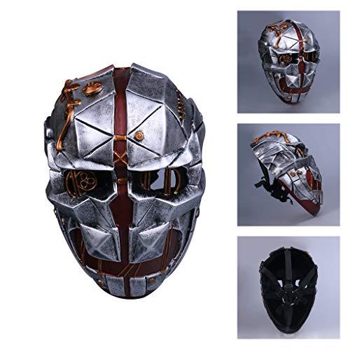 K-Flame Dishonored 2 Mask Halloween Cosplay Erwachsene Themenpartys Kostüm Prop Kostümzubehör Waffen Party Maskerade Masken (Dishonored Kostüm Party)