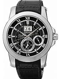 Seiko Reloj Automático para Hombre con Correa de Piel – SNP093P2