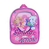 OFFICIAL PAW PATROL GIRLS LENTICULAR NURSERY SCHOOL BACKPACK RUCKSACK BAG NEW