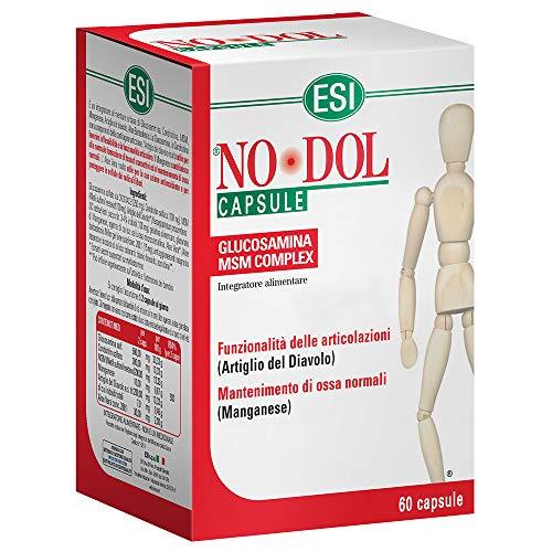 ESI - NO-DOL 60 CAPSULE [1 CONFEZIONE] efficace | naturale | benessere quotidiano - [KIT CON SAPONETTA NATURALE QUIZEN IN OMAGGIO]