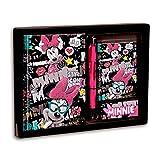 Minnie mouse–Minnie Mouse–Set Journal Intime et LISTIN (Montichelvo mc-54202) (Montichelvo 54202)