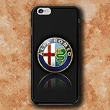 Alfa Rom Logo Vm Handy-Fall Hülle Handyhülle Schutzhülle für iPhone 6/6S Plus