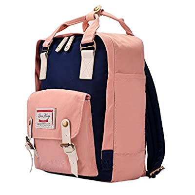 QH-Shop Backpack, Casual Backpack Splash Waterproof Nylon School Bags Unisex Teenagers Rucksack Multifunction Daypack Laptop Clapboard Work School Sport Campus Travel Hiking Shopping Gym - hiking-backpacks