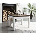 Noa and Nani - Canterbury Square Coffee Table - (Dark Pine and White)