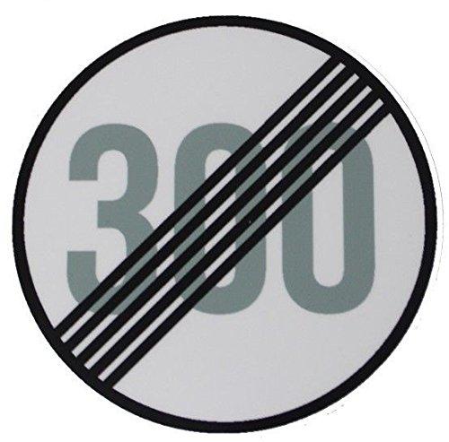 D003 Tempo Limit 300 aufgehoben - Tuning - Decal - Aufkleber Shocker JDM OEM DUB