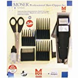 Moser 1400 - Maquina de cortapelo, color negro