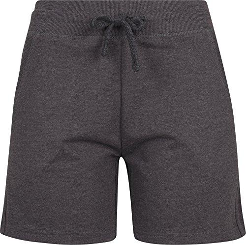Terry Shorts Damen Shorts Kurze Hose, Größe:XL, Farbe:Charcoal (Heather) ()