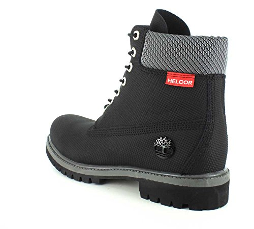 Timberland 6 Premium Boot - W, Chaussures montantes femme Black Relief Helcor® Leather