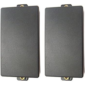 Geschlossene Doppel-Coil Humbucker Pickup Cover mit 3pcs Geschlossene 2 Stk