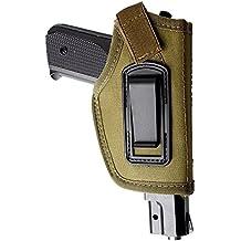 iwb Holster 1pieza dentro de la cintura oculta carry cinturón pistola funda de pistola Fits M & P Shield en 9mm Glock 194317262327P320Ruger LC9, lc380y pistolas de tamaño similar, Verde