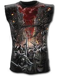 Spiral devils usage débardeur zombie mixte-noir-gothique