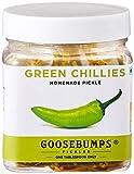 #3: Goosebumps Pickles Homemade Green Chillies Pickle, 250g