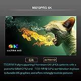 RKTechTMMX10 Pro 4GB+64GB Android 9.0 Allwinner H6 Quad Core 64-bit ARM Cortex-A53 CPU Mali T720 GPU 6K Set Top Android TV Box
