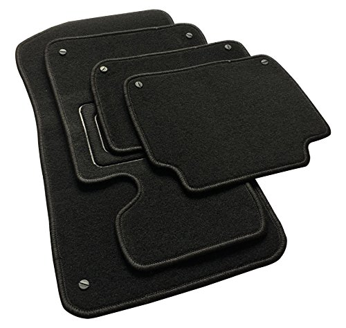 EUGAD AM7178p Autoteppich Auto Fußmatten Matten schwarz