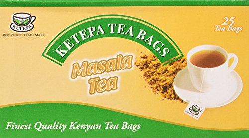 Ketepa Kenia Té - Masala 25 Envuelta bolsitas de té