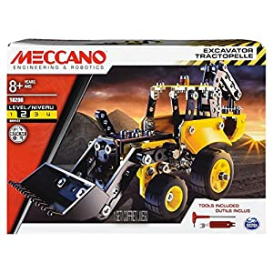 Meccano 6043106 Excavator-Themed