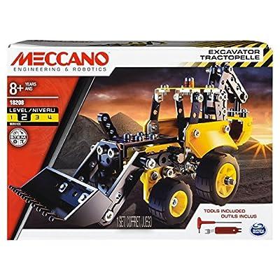 Meccano 6043106 Excavator-Themed