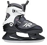 K2 Schlittschuhe Alexis Ice Damen Schlittschuhe, Schwarz-Grau-Weiß