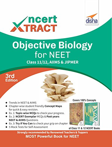 NCERT Xtract – Objective Biology for NEET, AIIMS, Class 11/ 12, JIPMER