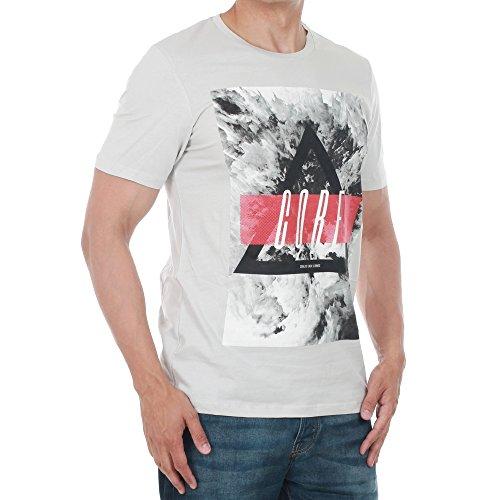 Jack & Jones Herren Oberteile / T-Shirt jcoMango Fire Khaki