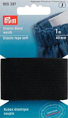 Elastic-Band weich 40 mm schwarz