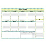 #6: InstaNote Weekly Planner Pads (Colourful Waves)