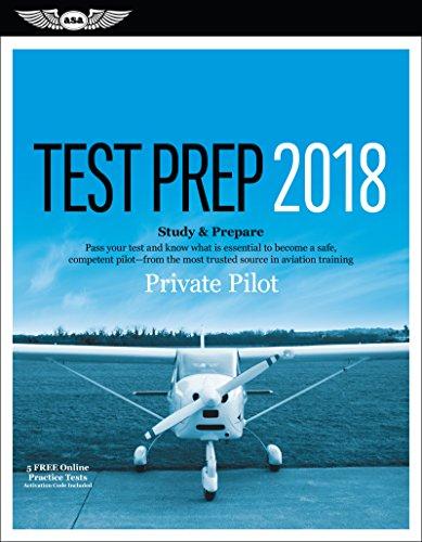 Private Pilot Test Prep 2018 (Test Prep series)