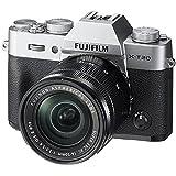 Fujifilm X-T20 Systemkamera mit XC16-50mm II Objektiv Kit (Touch LCD 7,6cm (2,99 Zoll) Display, 24,3 Megapixel APS-C X-Trans CMOS III Sensor) silber