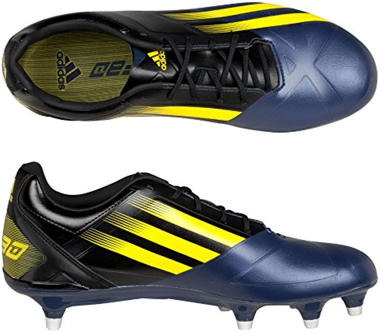 adidas FF80 Pro TRX FG Rugby Stiefel Schwarz/Vivid Yellow