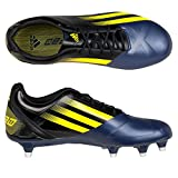 adidas Ff80 Pro TRX FG Rugby Boots Black/Vivid Yellow - Size 11 - Zapatillas de Rugby Para Hombre...
